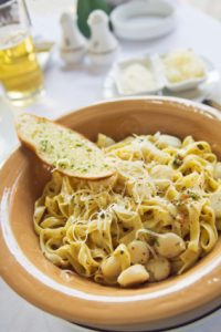 Small Scallop & Pasta